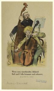 Wenn zum rauschenden akkord baß und cello brummt und schnorrt.