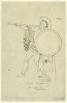 Grecian trumpeter from a fictile vase.