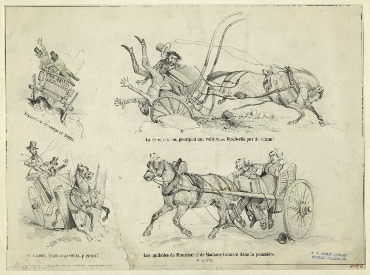 [Accidents involving horse-drawn carriages.]