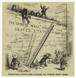 Throwing down the ladder by wh... Digital ID: 833651. New York Public Library