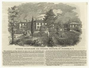 Wyoming Water-Cure and Hygienic Institute, at Wyoming, N.Y.