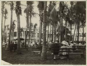 [Afterno]on concert hour, the Royal Poinciana, Palm Beach, Fla.