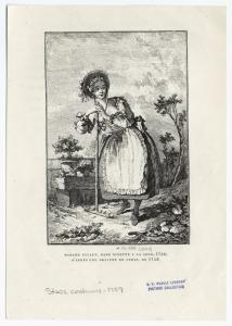 Madame Favart, dans Ninette a la cour, 1756.