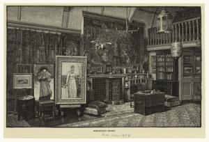 Boughton's studio.