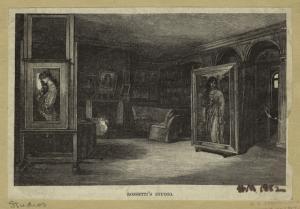 Rossetti's studio.