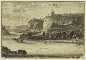 The Bansa, or residence of the King of Kongo called St. Salvador from Dapper.