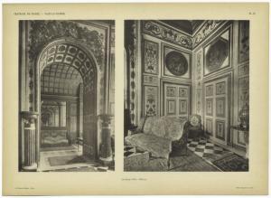 Chateaux de France - Vaux-le-Vicomte : le salon d'été - détails.