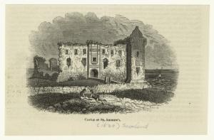 Castle of St. Andrews.