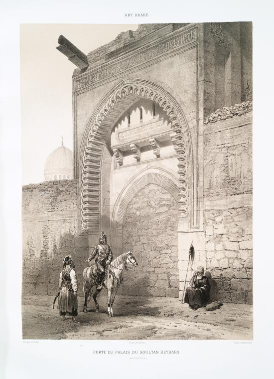 Fascinating Historical Picture of Sultan of Egypt and Syria Baybars I in 1877