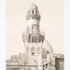 Minaret de la  mosquée El-Beybarsyeh (XIVe. siècle)