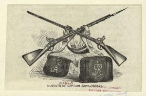 Muskets of Captain John Parker.