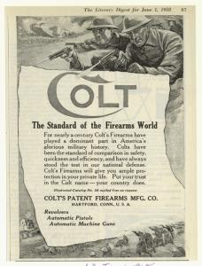 Colt: The standard of the firearms world.