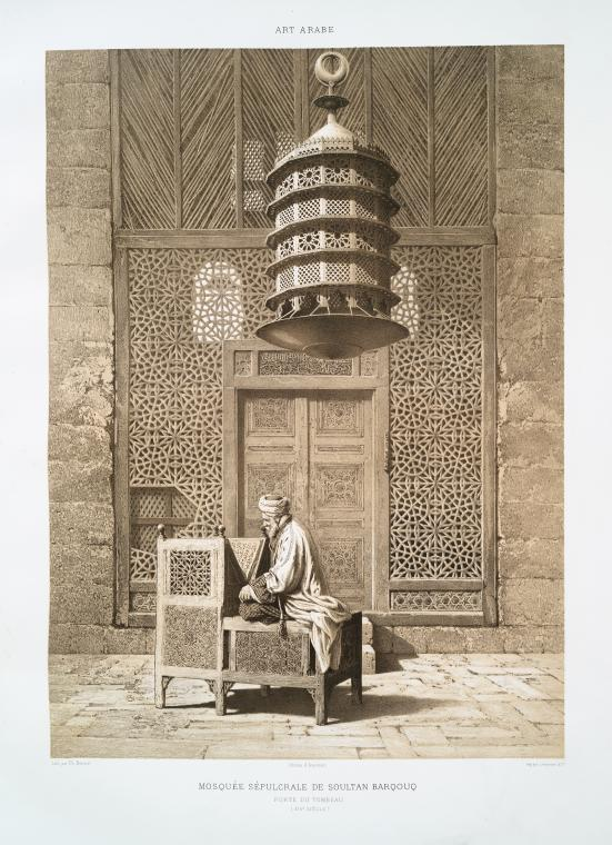 Fascinating Historical Picture of Sultan of Egypt Barquq in 1877