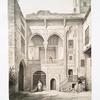 Maison appelée: Beyt El-Emyr, façade du Maqâad ou Iwan sur la cour (XVIIe. siècle)
