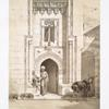 Porte du bain appelé Hammam El-Télat (XVIIIe. siècle)