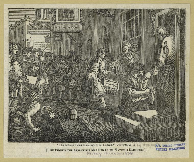 Fascinating Historical Picture of William Hogarth in 1747