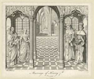 Marriage of Henry 7th.