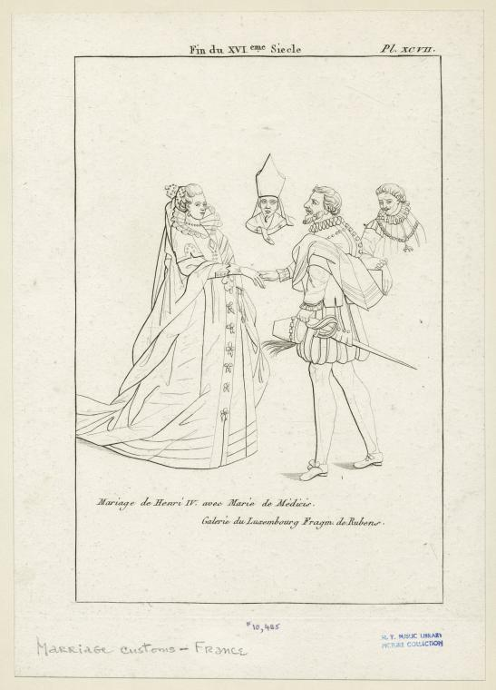 This is What Peter Paul Rubens and Mariage de Henri IV avec Marie de Medicis Looked Like  in 1804