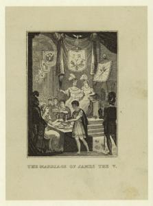 The marriage of James V.