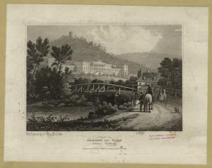 Gegend von Baaden bey Wien (Schloss Weilburg).