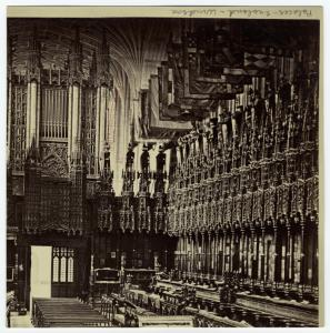 [St. George's Chapel, Windsor Castle.]