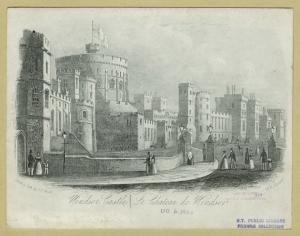 Windsor Castle = Le chateau de Windsor.