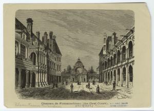 Chateau de Fontainbleau (the Oval Court).