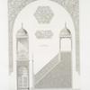 Mosquée cathédrale de Qous : ensemble et détails du mimbar (XIIe. siècle)