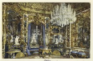 [Hall of mirrors, Schloss Linderhof.]