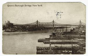 Queens Borough Bridges, New Yo... Digital ID: 836093. New York Public Library