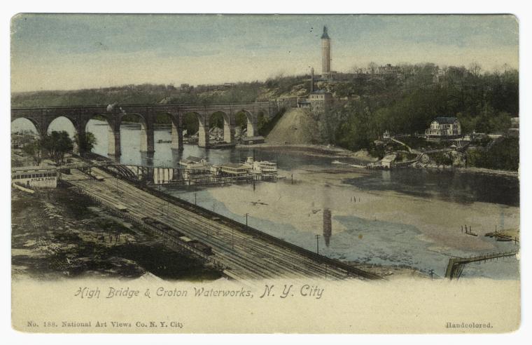 High Bridge & Croton Waterworks, N. Y. City