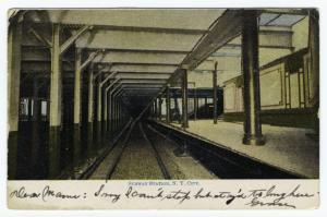 Subway station, N.Y. City.