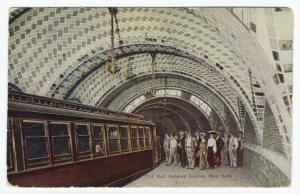 City Hall Subway Station, New York.