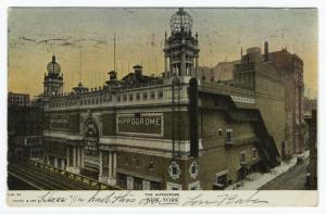 The Hippodrome, New York.