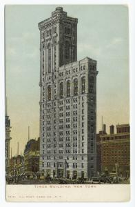 Times Building, New York.