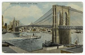 Brooklyn Bridge, New York Digital ID: 836241. New York Public Library