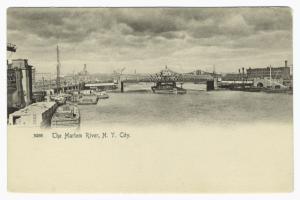 The Harlem River, N. Y. City