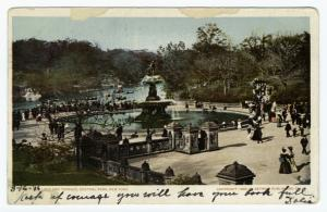 Lake and Terrace, Central Park, New York