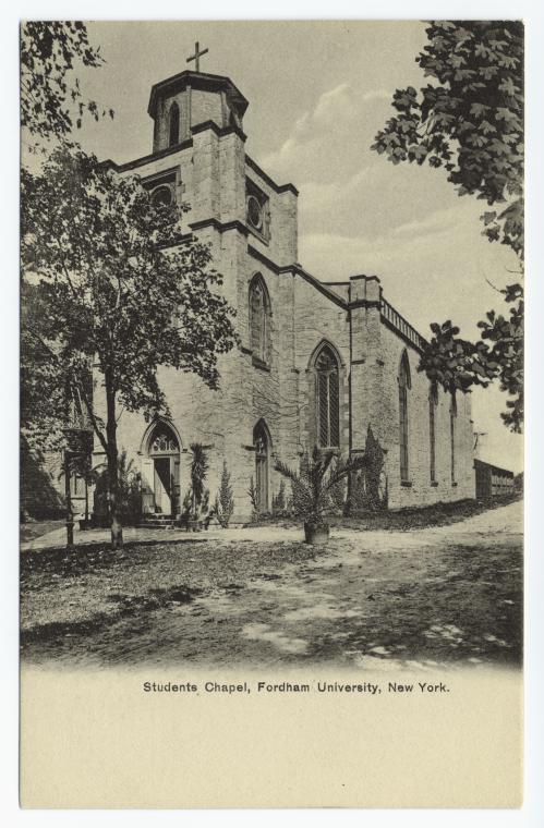 Student Chapel, Fordham University, New York.