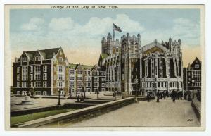 College of the City of New York.