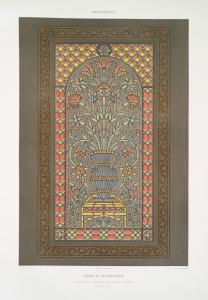 Arabesques : Gâmá el-Achrafîeh : chemsah ou vitrail en plâtre ajouré (XVe. siècle)