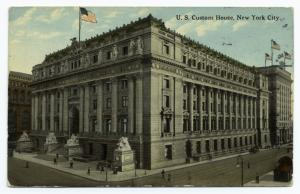 U. S. Custom House, New York City.