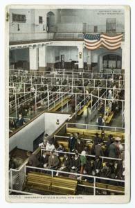 Immigrants at Ellis Island, Ne... Digital ID: 836573. New York Public Library