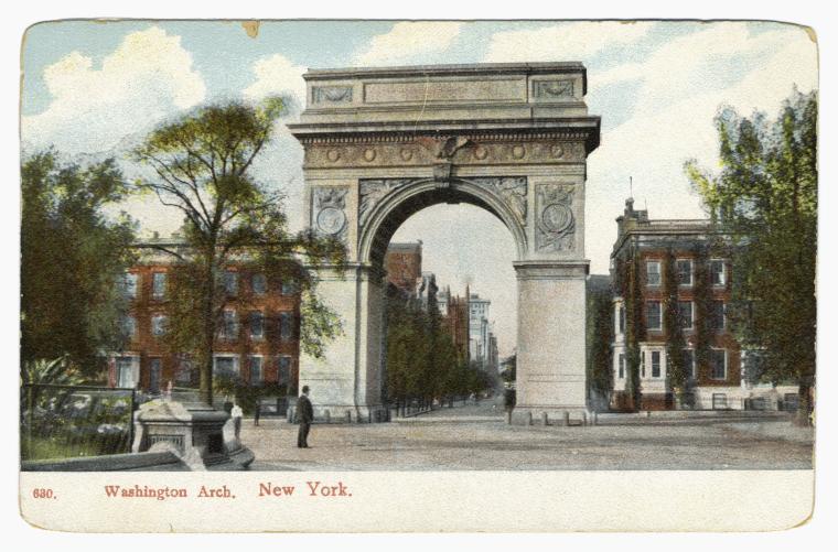 Washington Arch.  New York.