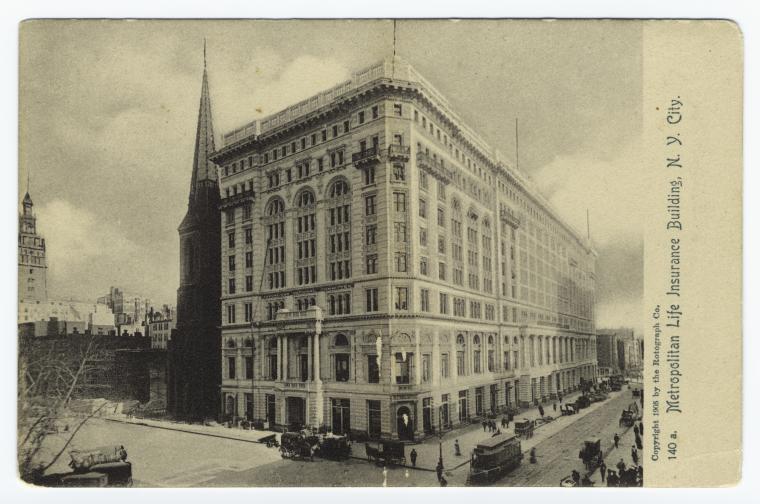 Metropolitan Life Insurance Building, N.Y. City.