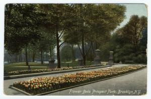 Flower beds Prospect Park, Brooklyn, N.Y.