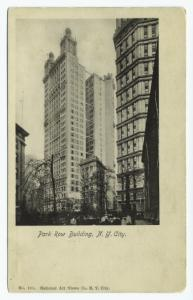 Park Row Building, N.Y. City.