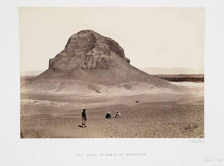 Fascinating Historical Picture of Sneferu, King of Egypt in 1862