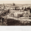 View over Jerusaslem & site of the temple, from Mount Zion