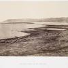 The north shore of the Dead Sea
